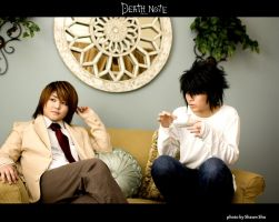 Deathnote - Rivals by shiawase-chan