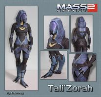 Tali Papercraft Download by Avrin-ART