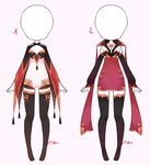 {Closed} Auction Outfit 301 - 302 by xMikuChuu