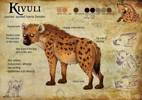 Kivuli Reference Sheet by Anatoliba