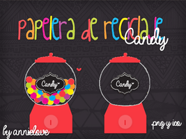 Papelera Candy By Annielove by Analaurasam
