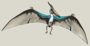 The Lost World Jurassic Park Pteranodon male by NikoRex