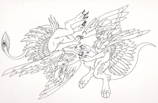 MoA and Lucifer :D by Lenalis