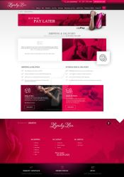 LyndyLou - ahipping page by webdesigner1921