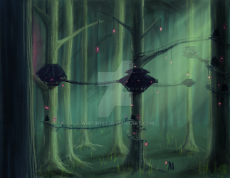 Arborel Woods by Whit3Fir3