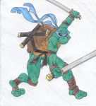 Leonardo by Goldenjellybean