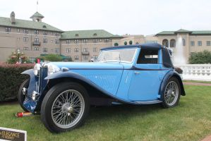 MG At The Hotel Hershey by SwiftysGarage