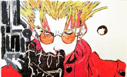 Vash the Stampede_Trigun  by Abuelo92