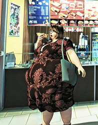 BBW - Big Bellly Woman by bredy