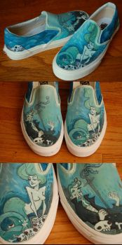 underwater adventure shoes by fishbot