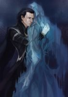 thorXloki  goodbye my brother by fallofflow