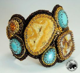 Stepping Stones Cuff by GoodQuillHunting