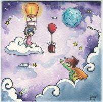 Rocketgirl and Starboy: Gifts From Afar by rocketgirl85