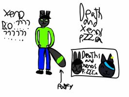 xeno and death xeno sign X3 by xenomega101