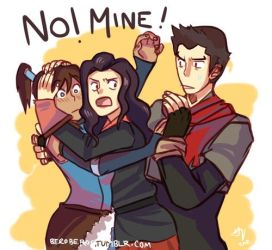 LoK Korrasami ending thoughts by TalonRaptor