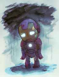 Sad Little Iron Man by McMitters