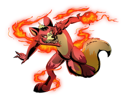 Raffle Prize: Playing With Fire by Rile-Reptile