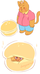 Burgercat by dongoverlord