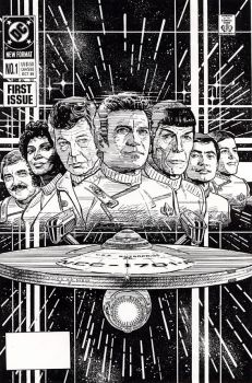 STAR TREK CLASSIC RELAUNCH by Jerome-K-Moore