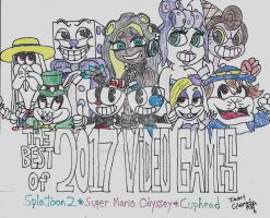 Best of 2017: Video Games by CelmationPrince