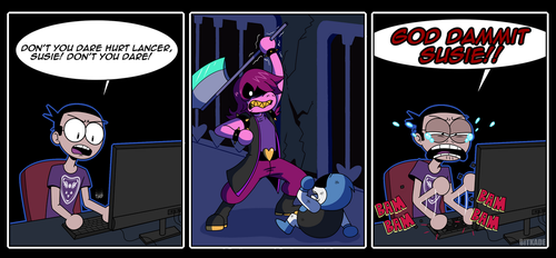 DELTARUNE: Don't you dare! by Bitkade