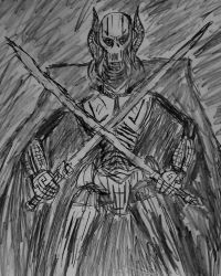 General Grievous sketch by TheRavensBastard39