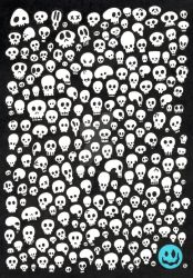 Skull Wall by horrorshow-artwork