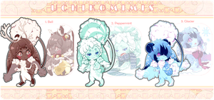 [Adopts] Uchikomimis! Holiday CLOSED by Srinitybeast