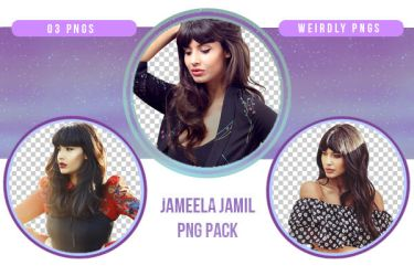 Jameela Jamil PNG Pack by Weirdly-PNGS