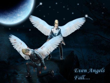 Even Angels Fall by Shinymane1