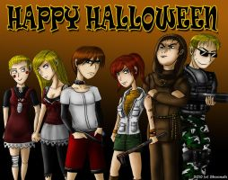 RECV : Halloween Contest by Sheenah