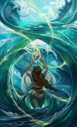 Ocean Magic by juliedillon