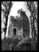Ghostly Tower by fuzzy