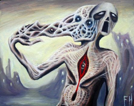 Ego Death Grip by FrankHeilerArt