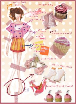 no4 - Cupcake Dress by projectfilia