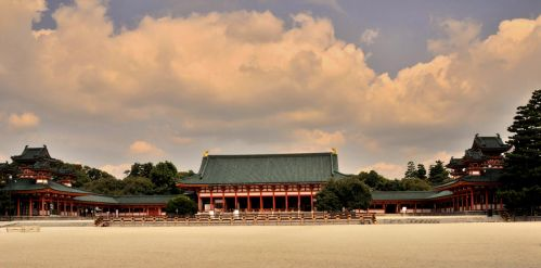 The Heian Shinto Shrine by AndySerrano
