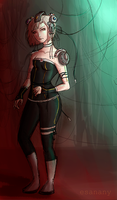 GLaDOS is kind of hot by EsaNany