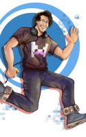 Hello everybody, my name is Markiplier! by Rinkuchan27