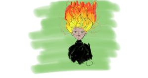 FireHairBoy by NinjaObsessed