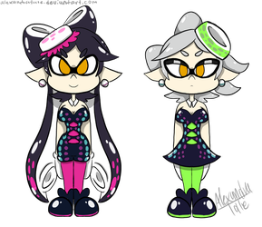 callie and marie by AlexandraTale