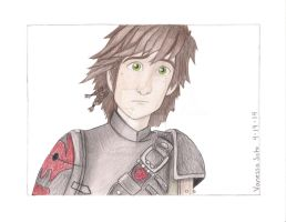 Something is Coming... -Httyd 2 (Colored) by aquavanessa27