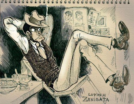 Zenigata K by Dasha-KO