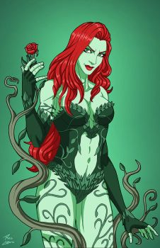 Poison Ivy (E-27: Enhanced) commission by phil-cho