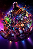 Avengers: Infinity War (2018) - Fan Poster by CAMW1N