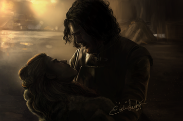 You know nothing, Jon Snow by EvelinaLindqvist