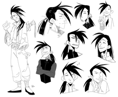 [FA] - Ling sketchpage by Sylthian