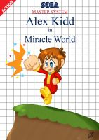 Alex Kidd re-mastered by Hotaru-oz