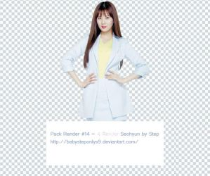 Pack Png #14 ~ 4 Render Seohyun by BabySteponlys9