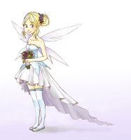 Fairy Wedding dress by Paulina-AP