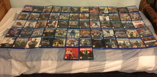 My PlayStation 4 Collection (September 4th, 2018) by Archangel470